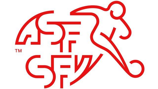 Le logo de l'Association suisse de football.