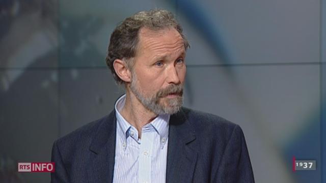 René Knüsel, politologue à l'Université de Lausanne. [RTS]