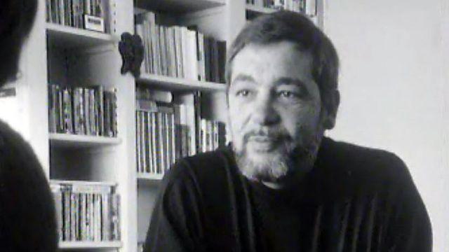Emile Gardaz interviewé par Catherine Charbon sur ses lectures.