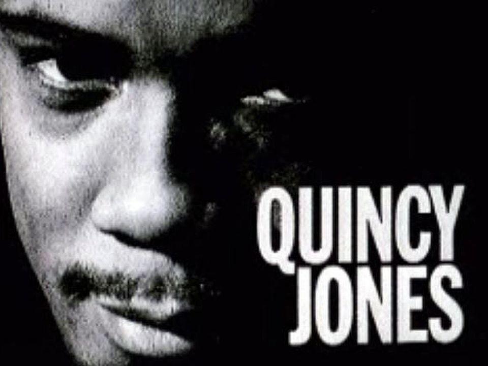 Le grand Quincy Jones et son orchestre pour un concert à Lausanne.