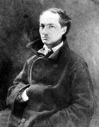 Charles Baudelaire (1821-1867), poète français, par Nadar. 1855. [Nadar - Collection Roger-Viollet / Roger-Viollet]