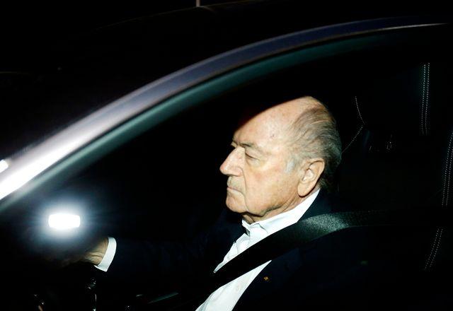La menace se précise pour Blatter. [Michael Probst - Keystone]