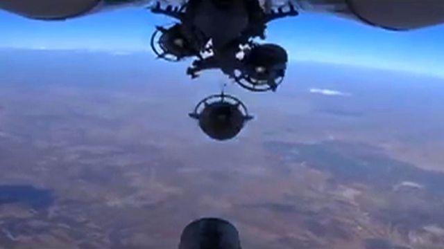 Les opérations en Syrie coûtent cher à la Russie. [Russian Defence Ministery/AFP - AFP]