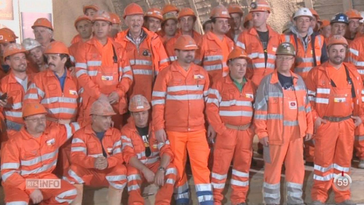 GE- Projet du CEVA: un tunnel a été percé sous le quartier de Pinchat [RTS]