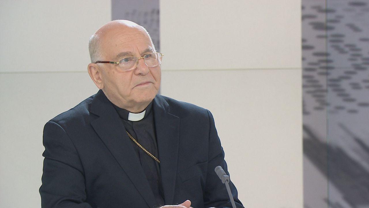 """Selon Mgr Jeanbart, l'intervention russe """"redonne espoir"""" aux chrétiens de Syrie. [RTS - RTS]"""