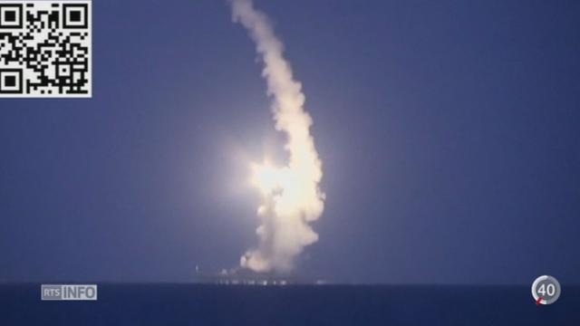 Moscou mène à la fois une campagne guerrière et de communication en Syrie [RTS]