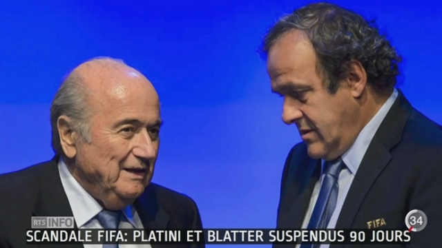 Soupçons de corruption à la FIFA: les chances de Michel Platini de diriger l'institution s'amenuisent