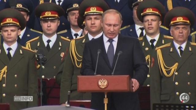 Frappes russes: l'OTAN accuse la Russie de poursuivre une volonté de reconquête en Orient [RTS]