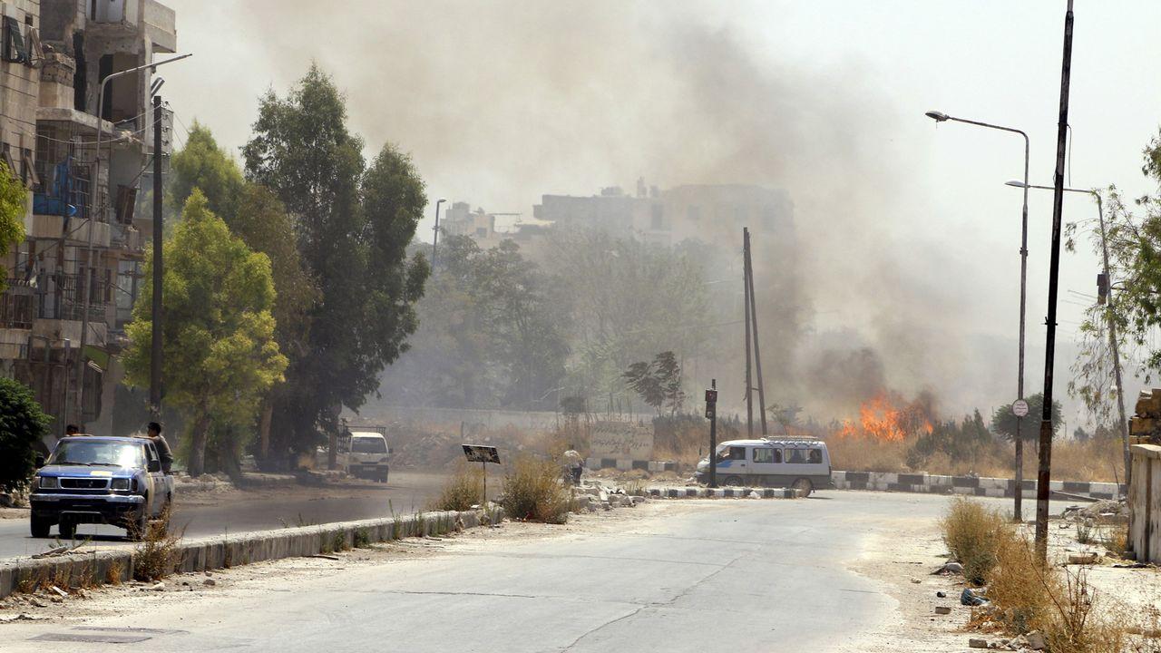 La ville d'Alep. [Reuters]