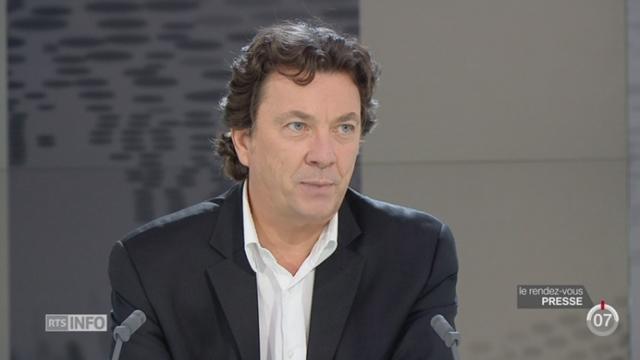 Le rendez-vous de la presse - JU: Rémy Chételat et Serge Jubin évoquent la campagne jurassienne [RTS]