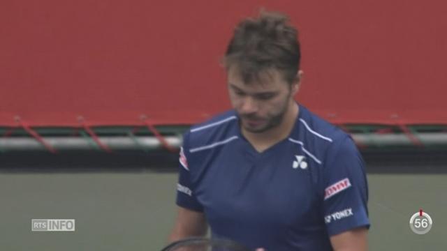 Tennis: Wawrinka s'est qualifié pour la finale du tournoi de Tokyo [RTS]