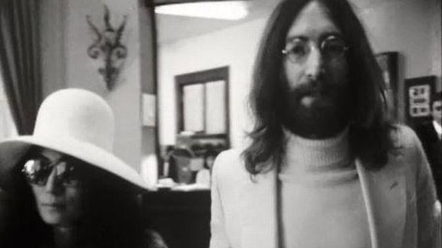 La balade à Montreux de John Lennon et Yoko Ono... [RTS]
