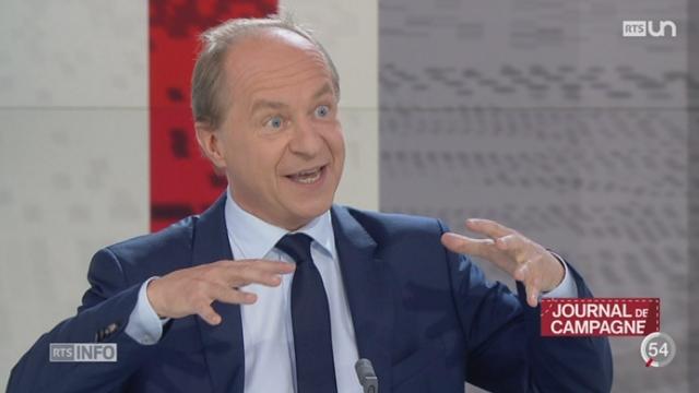 Journal de campagne: Alain Rebetez raconte les coulisses de la campagne électorale [RTS]