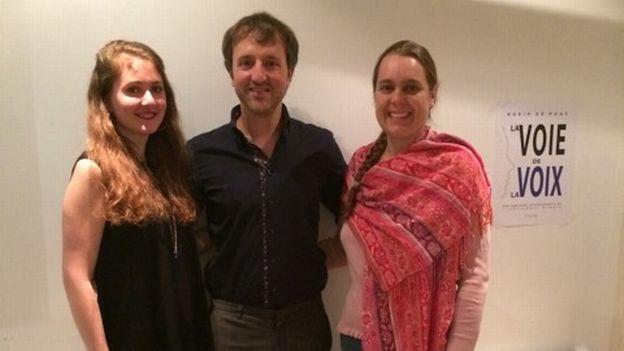 Atelier avec Robin De Haas: la voie de la voix