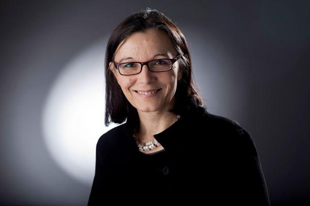 Manuela Salvi. [Laurent Bleuze - RTS]