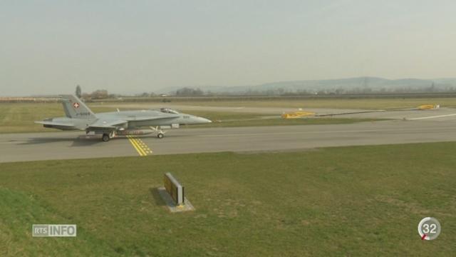 Un avion de combat suisse s'est écrasé à Glamondans, à 60km de la frontière suisse [RTS]