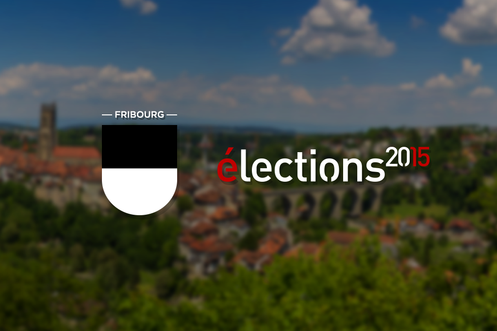 Elections fédérales, Fribourg.