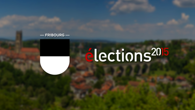Elections fédérales, Fribourg. [RTS]