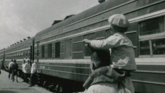 Des journalistes romands en voyage en Chine. [RTS]