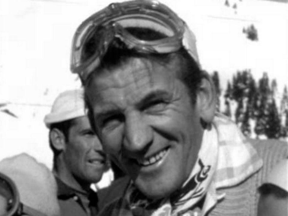 Le skieur neuchâtelois Georges Schneider. [RTS]