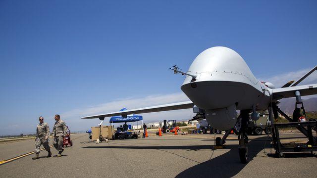 Un drone Reaper, utilisé pour les missions de l'armée américaine. [Reuters]