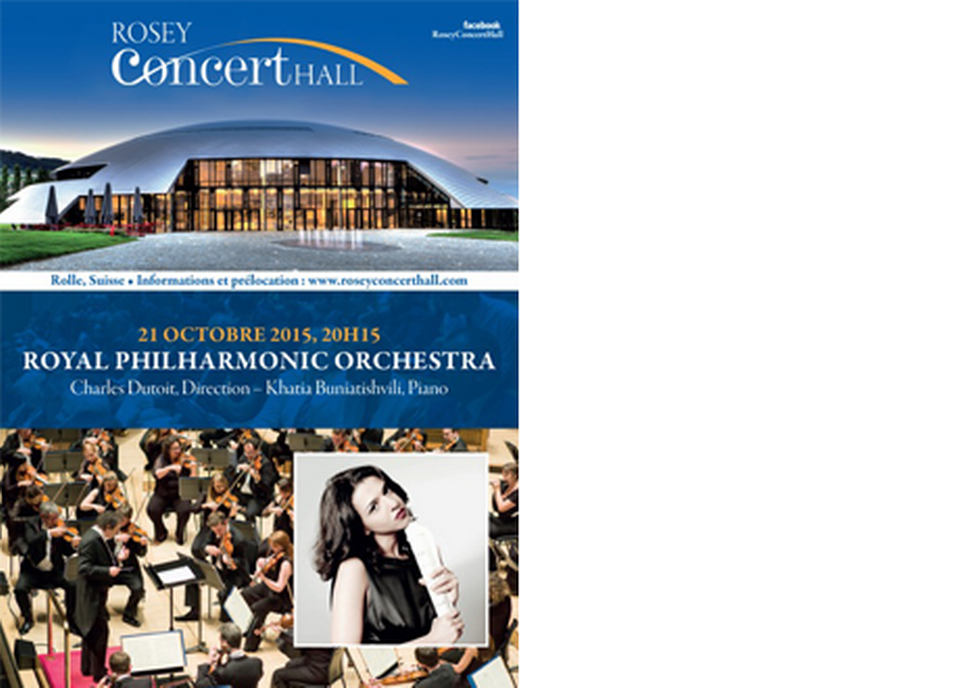 Royal Philarmonic Orchestra au Rosey Concert Halle [a Rosey Institut]