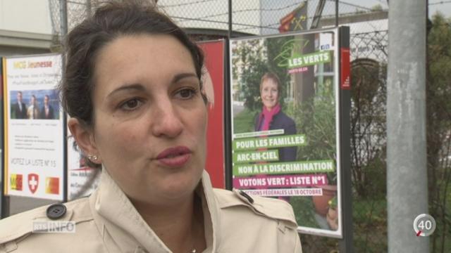 Elections fédérales: les partis politiques ont investi dans leurs affiches [RTS]