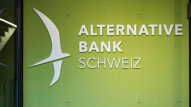 La Banque alternative suisse première à introduire des taux d'intérêt négatifs. [Alessandro Della Valle - Keystone]