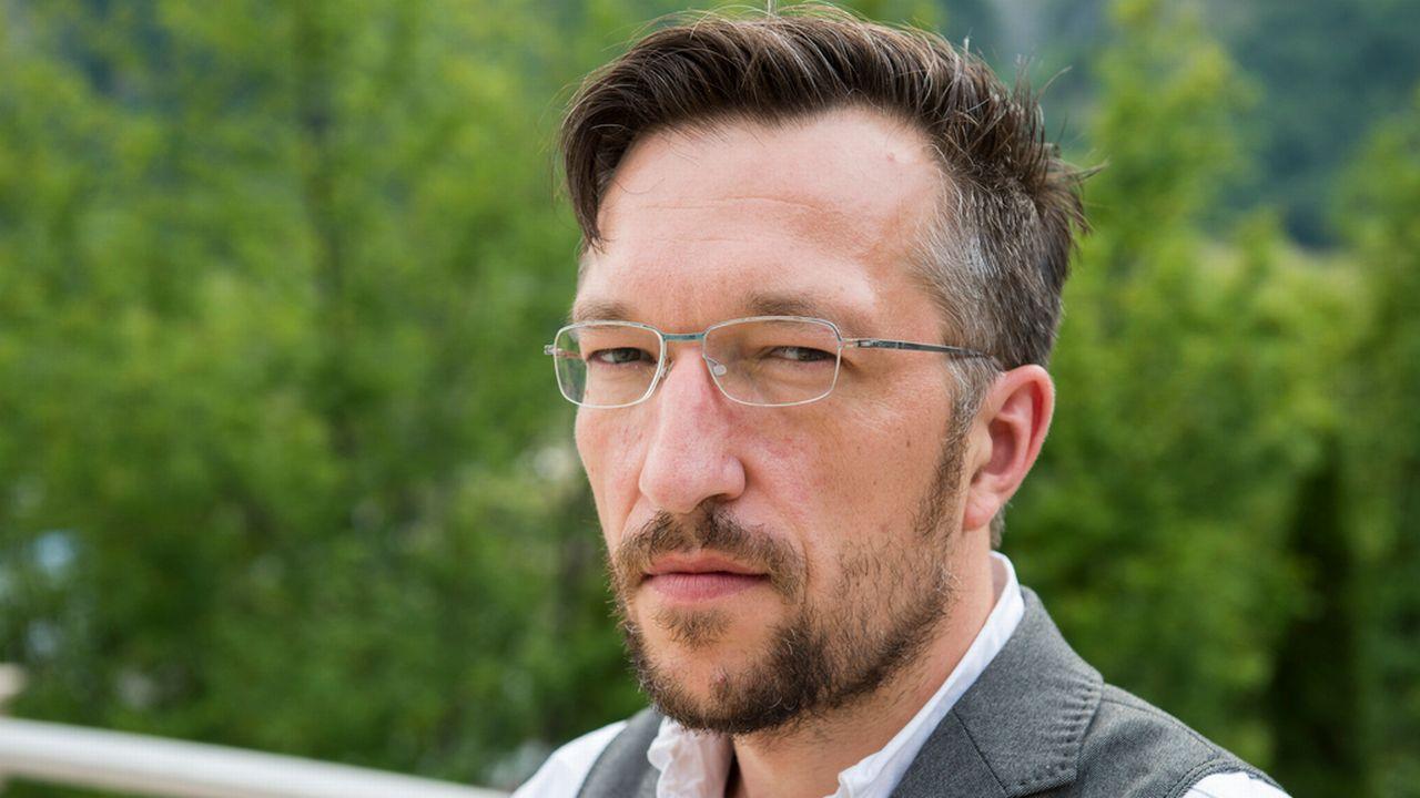 """Pour l'écrivain alémanique Lukas Bärfuss, """"la Suisse est un non-sens"""". [Dominic Steinmann - Keystone]"""