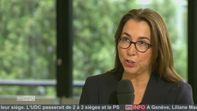 """""""Le PS a dû cravacher pour imposer ses thèmes de campagne"""", Cesla Amarelle (PS-VD) [RTS]"""
