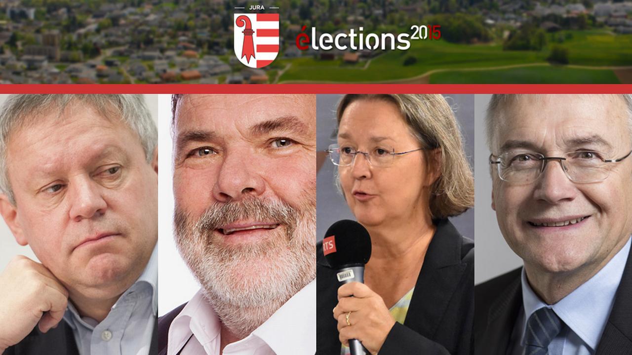Il n'y a pas de changement dans le Jura, les quatre sortants sont réélus.