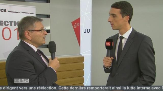 """""""C'est une reconnaissance du travail accompli"""", Charles Juillard (PDC-JU) [RTS]"""