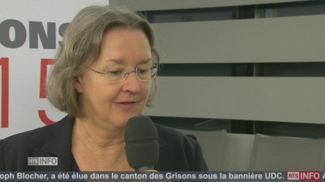 """""""Les gens savent que je suis une personne fiable et indépendante"""", Anne Seydoux (PDC-JU) [RTS]"""