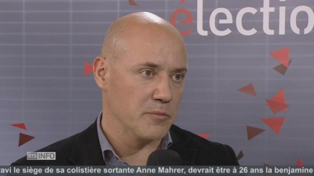 """""""C'est un dimanche noir pour le PS fribourgeois"""", Pierre Mauron (PS-FR) [RTS]"""