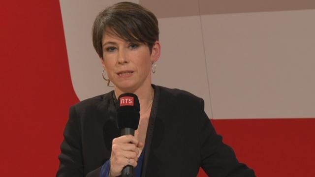 Élections fédérales: le point de vue de la Suisse alémanique avec Anne Fournier, depuis Zurich [RTS]