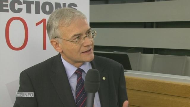 """""""Ce qui est fondamental, c'est la mise en lisibilité de ma région"""", Claude Hêche (PS-JU) [RTS]"""