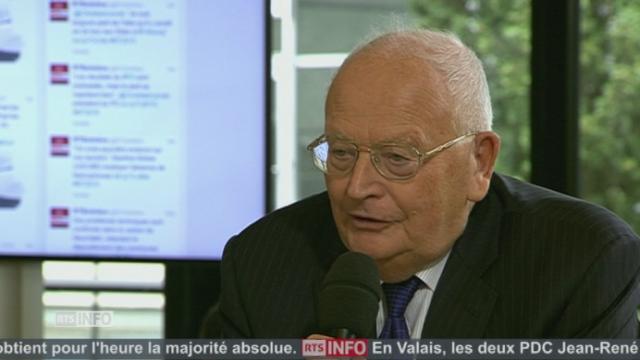 """""""Je vais me consacrer à l'écriture"""", Jacques Neirynck (PDC-VD) [RTS]"""