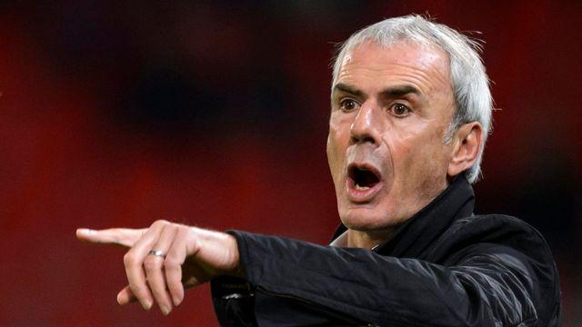 Michel Decastel est le nouvel entraîneur de Xamax. [Laurent Gillieron - Keystone]
