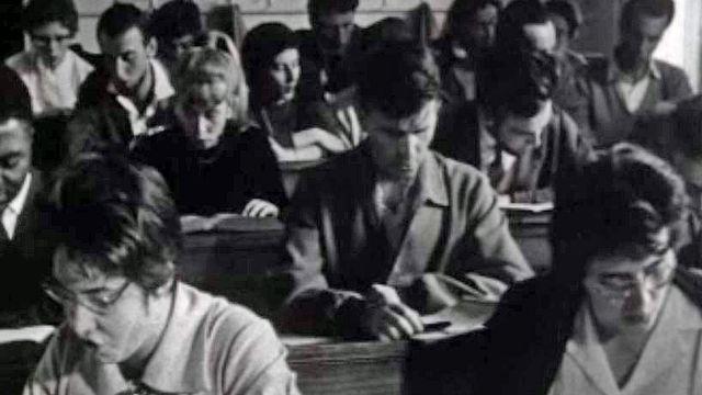 Les facultés de l'Université de Genève, un document de Claude Goretta.