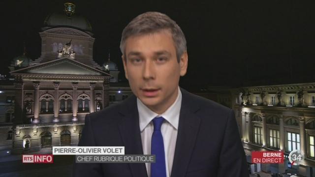 Augmentation des refus des demandes d'asile d'Érythréens: les précisions de Pierre-Olivier Volet à Berne [RTS]