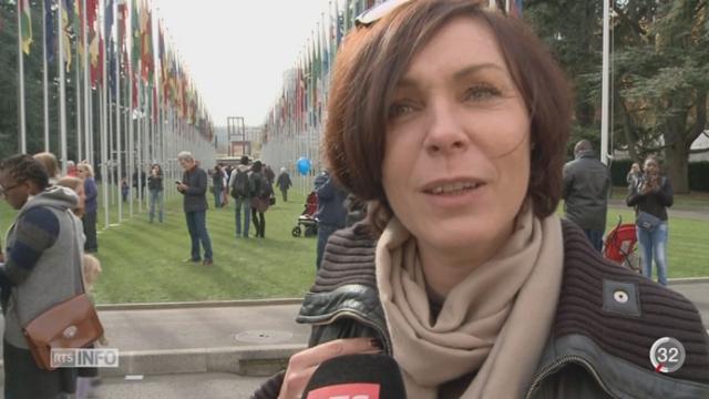 GE: l'ONU ouvre ses portes à l'occasion de son 70e anniversaire [RTS]
