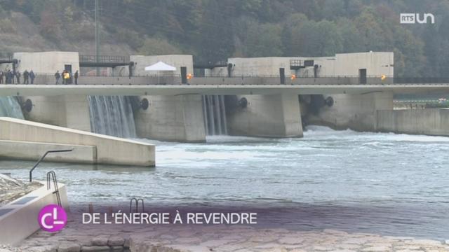 BE: la centrale hydraulique la plus moderne de Suisse a été inaugurée [RTS]