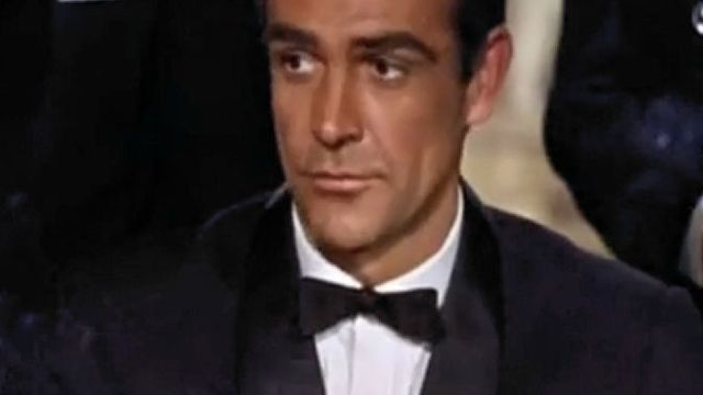 James Bond Sean Connery Dr. No [Wikimedia]
