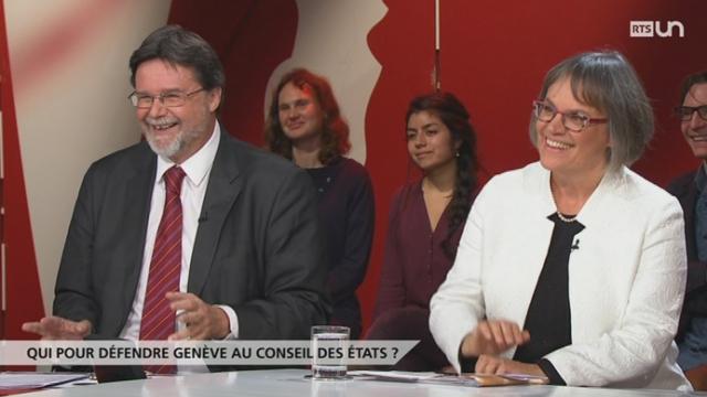 Qui pour défendre Genève au Conseil des Etats? [RTS]