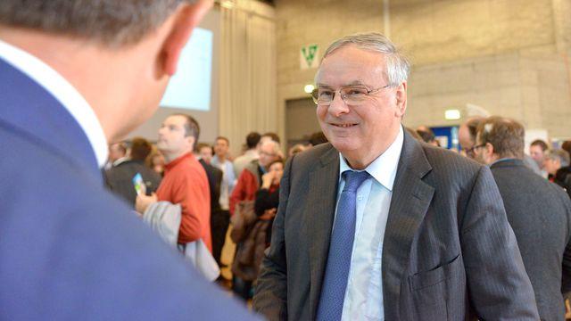 Le conseiller national fribourgeois Jean-François Rime est le candidat de l'UDC cantonale pour le 2e tour aux Etats. [Christian Brun - Keystone]