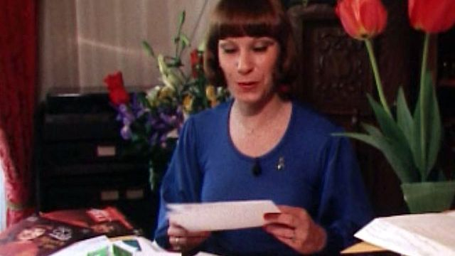 Abondant courrier pour Arlette Zola après l'Eurovision.