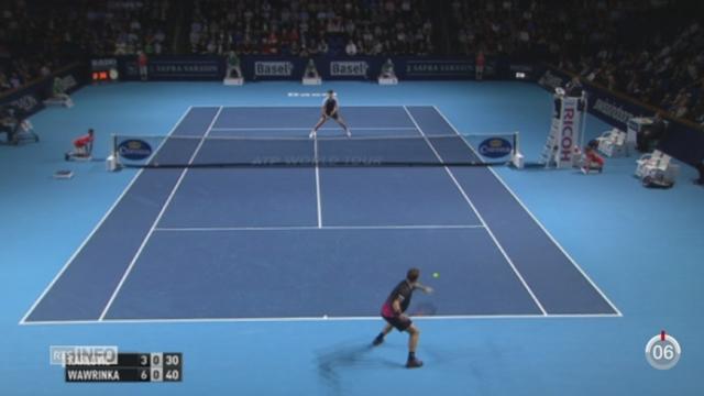 Tennis - Swiss Indoors: Wawrinka perd dès le premier tour [RTS]