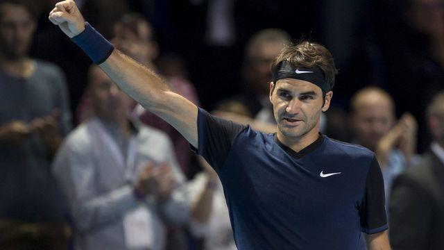 Roger Federer a dû batailler pour battre l'Allemand. [Georgios Kefalas - Keystone]
