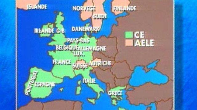 La Suisse engage des pourparlers pour l'adhésion à l'Europe.