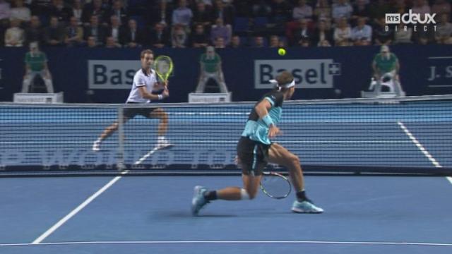 Rafael Nadal - Richard Gasquet (6-4, 0-1): le Français prend à nouveau le service du Majorquin [RTS]